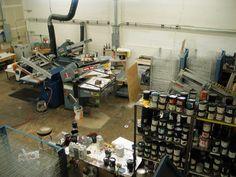 Diesel Fuel Prints (www.dieselfuelprints.com). My Son's Shop