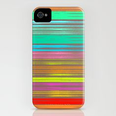 Waves_Multicolor2 - iPhone Case by Garima Dhawan