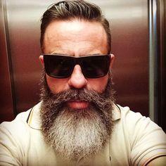 Beardelicious | beardgang4life: #selfie #sunglasses #diesel...