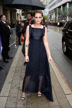 Kristen Stewart wears Chanel Haute Couture at Toronto Film Festival 2015