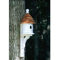 Lazy Hill Small Shingled Bird House