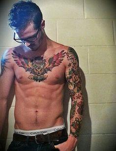 25 Chest Tattoos For Men