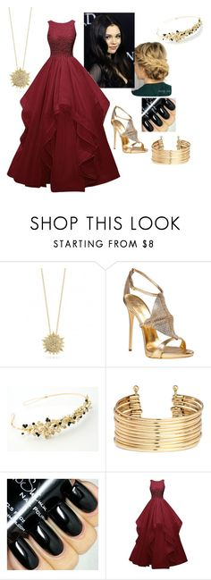 """""""Marissa, Coronation"""" by paisley099 ❤ liked on Polyvore featuring Roberto Coin, Giuseppe Zanotti, H&M and disneydescendants"""