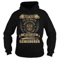 SCHEIDERER Last Name, Surname T-Shirt