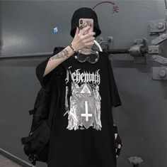 Edgy Outfits, Grunge Outfits, Cool Outfits, Fashion Outfits, Tomboy Fashion, Grunge Fashion, Streetwear Fashion, Aesthetic Grunge Outfit, Aesthetic Clothes