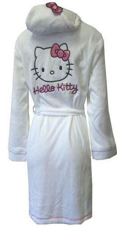 Hello kitty- WANT ONE! #Hello Kitty #robe