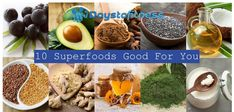 10 superfoods good for you