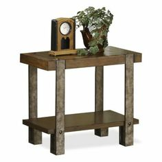 have to have it. riverside sierra chair side table $236.25