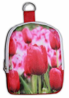 6c55b561e2d Typisch Hollands Nylon Tas - Opvouwbaar - Tulpen