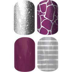 """Purple Giraffe"" by lindseydy on Polyvore Omaha.Jamberrynails.Net"