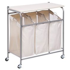 Laundry Bags At Walmart Brilliant Canopy 3 Bin Laundry Sorter  Walmartwe Have Tried Others But