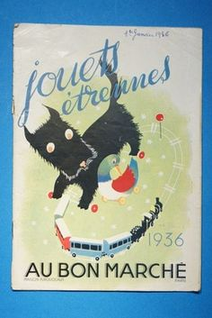 Au Bon Marche French Children's Toy Catalog