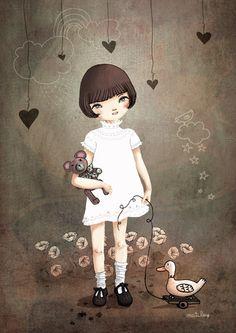 jamais sans mon doudou by Matilou.deviantart.com on @DeviantArt