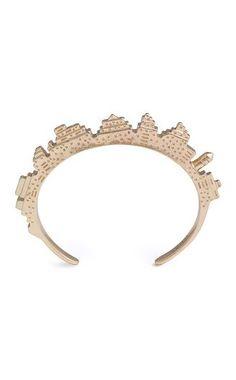 Skyline Bracelet : Little bit of Wimsy . Jewelry Box, Jewelery, Jewelry Accessories, Fashion Accessories, Jewelry Design, Unique Jewelry, The Bling Ring, Bangles, Bracelets