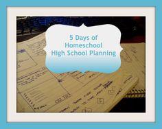 Planning a Homeschool High School Course List
