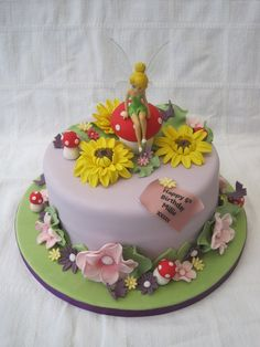 Tinkerbell - by Keeley Cakes @ CakesDecor.com - cake decorating website