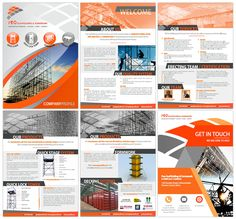 Company Profile Designers South Africa   Order Yours Now   Web Devine Company Profile Template, Company Profile Design, Brochure Design Layouts, Brochure Template, Flyer Template, Corporate Profile, Business Profile, Booklet Design, Presentation Folder