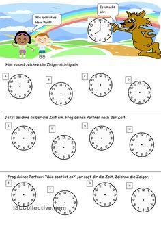 Wie spät ist es Herr Wolf?