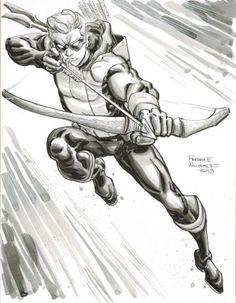 Green Arrow by Freddie Williams II