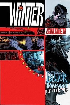 WINTER SOLDIER: THE BITTER MARCH #5 (of 5) - Cover by ANDREW ROBINSON