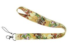 The Legend of Zelda Lanyard Neck Strap Cell Phone ID Badge Holder -- Awesome products selected by Anna Churchill