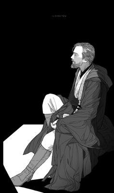Obi-Wan Kenobi fanart #starwars #jedi