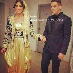 «Algerian traditional dresses #bedroune_algerois  #الجزائر…
