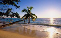 Beach on Silhouette Island, Seychelles