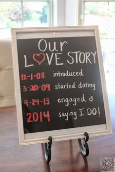 17. #Frame It - 33 save the Date Ideas ... → #Wedding #Notifications