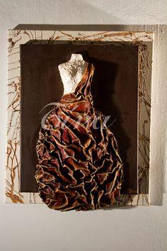 τίνας δημιουργικές ιδέες: Οκτώβριος 2012 Mannequin Art, Different Kinds Of Art, 3d Artwork, Felt Art, Craft Gifts, Mixed Media Art, Textile Art, Altered Art, Paper Art