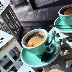 https://flic.kr/p/BASyT4 | A long black coffee at Ground Control in Circular Quay #coffee #longblack