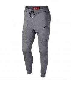 Nike Tech Fleece Pant GX 1.0 Carbon Heather 886175-091 Mens Medium