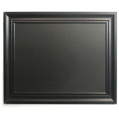 Chalkboard Frame (€24) ❤ liked on Polyvore featuring home, home decor, frames, no color, black picture frames, black home decor, linon home decor and black frames