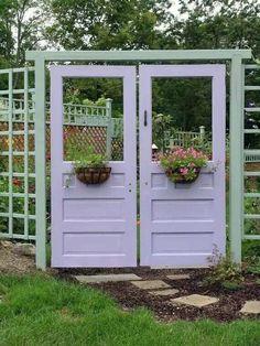 Doors for garden gate