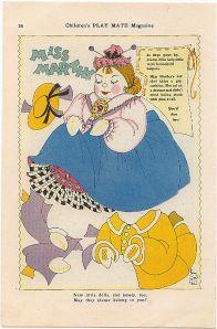 Miss Marthy -1940s * 1500 free paper dolls Christmas gifts artist Arielle Gabriels The International Paper Doll Society also free paper dolls The China Adventures of Arielle Gabriel *
