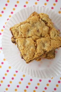 Dorie Greenspan's Chewy, Chunky Blondies - Lovin' From the Oven