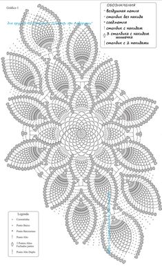 VK is the largest European social network with more than 100 million active users. Crochet Table Runner Pattern, Free Crochet Doily Patterns, Crochet Doily Diagram, Filet Crochet, Crochet Designs, Tatting Patterns, Crochet Dollies, Crochet Lace, Crochet Carpet