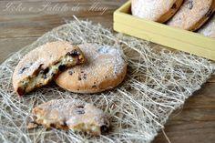 Cookies with ricotta and chocolate - Biscotti con ricotta e cioccolato, semplici e friabili
