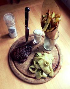 Perfect steak & fries