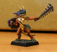 Lustria Online • View topic - Volcanic Lizardmen Painting Blog (neveroddoreven update)