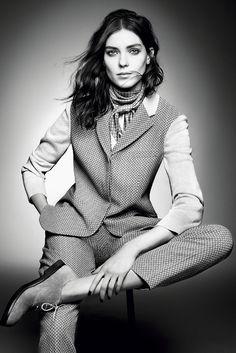 Kati Nescher by Sølve Sundsbø for Giorgio Armani Fall 2015 'New Normal' Ads