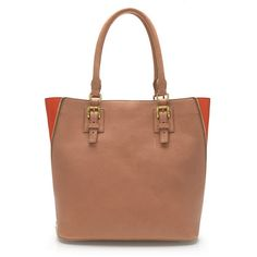 Basic tote with pop of color (J.Crew - Goodwinn tote) #jcrew #fashion