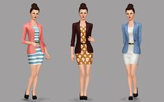 Lana CC Finds - simetriasims:  This time I converted a female...