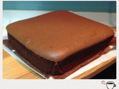 *Add an extra tbsp of honey and don't change amount of sugar. Chocolate pillow old fashioned chiffon cake cocoa 古早味的枕頭蛋糕,加了可可粉,變成香濃好吃的巧克力口味。