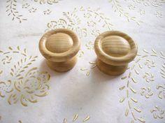 Manopole di legno Italia in alta qualità. di troiloartevintage