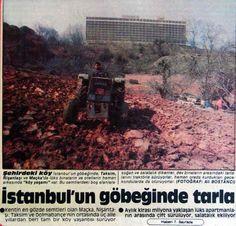 'İstanbul'un göbeğinde, Taksim,Nişantaşı ve Maçka'da lüks binaların ve otellerin hemen arkasında ''köy yaşamı''(1985)  #istanlook