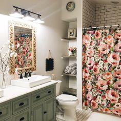Home. Photo cred: Allie Boss For a girls bathroom someday Home Interior, Interior Design, Interior Livingroom, Bathroom Inspiration, Girl Bathroom Ideas, Cozy Bathroom, Bathroom Inspo, Bathroom Layout, Bathroom Shelves