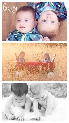 8 Month old Twin Boy outdoor Photos - top photo Twin Birthday Pictures, Twin Babies Pictures, 3 Month Old Baby Pictures, Cousin Pictures, Twin Baby Photos, Toddler Pictures, Babies Pics, Twin Boys Photography, Birthday Photography