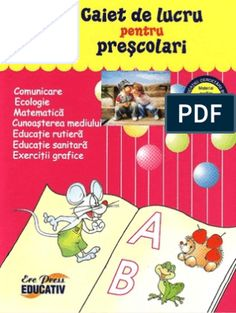 Carte Educativa Pentru Prescolari Activitati Matematice 5 7 Ani Kids Routine Chart, Activities, Education, School, Geo, Teaching, Training, Educational Illustrations, Learning