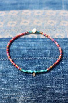 Bracelet fin perles